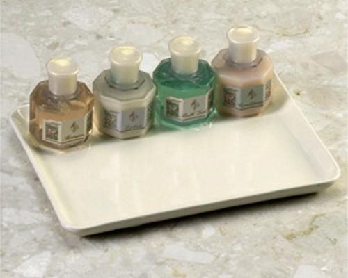 Porcelain bathroom accessories amenity tray amenity trays for Bathroom accessories tray