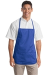 Port Authority™  professional waste apron, durable 7.5 ounce, 65/35 poly/cotton twill for easy care.