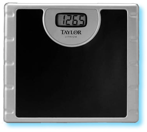 Taylor 174 Lithium Electronic Bathroom Scale 772 7009