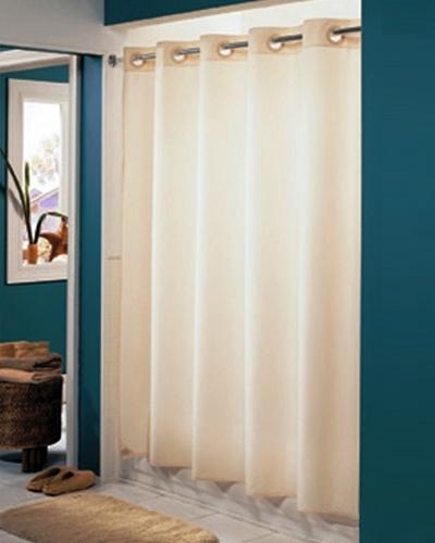Hookless 6 Gauge Vinyl Shower Curtain, No. 774-HBHS016GA05