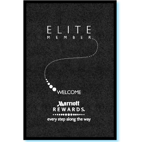 Marriott Quot Elite Quot Members Welcome 3 X 5 Mat No 778 01