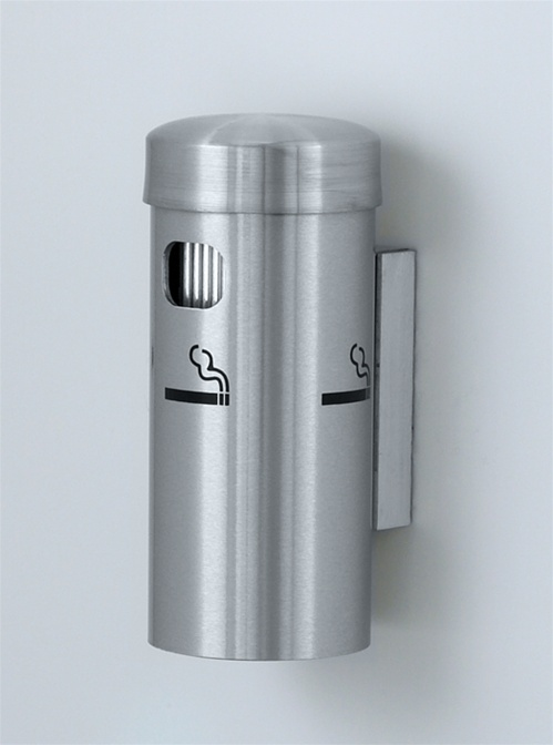 Glaro Deluxe Series 8 Quot Wall Mounted Smokers Receptacle No