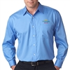 UltraClub® Men's Whisper Elite Twill Shirt