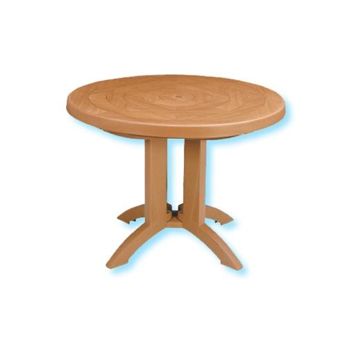Grosfillex Atlantic 38 Round Folding Table