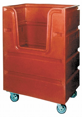 48 Cubic Foot Capacity Bulk Delivery Laundry Utility Cart