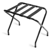 Luggage rack, black with black straps, No 022-155BL-BL - case of 6 pcs.