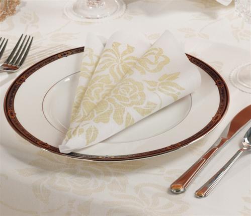 Gold Prestige 17 Quot X 17 Quot Linen Like Dinner Napkin No 10
