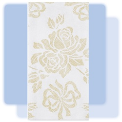 Gold Prestige linen-like guest towel, No. 10-856520