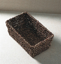 Seagrass basket for guest towels, No. 10-BSK2151