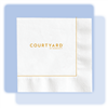 Courtyard beverage/cocktail napkin, #1033005
