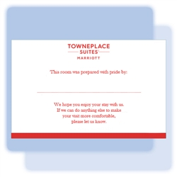 TownePlace Suites Pride/Welcome flat card, #1220925