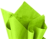 Lime green tissue paper for wrapping, #122101LM