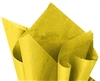 Deluxe YELLOW tissue paper for wrapping, #122101Y