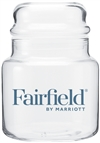 Fairfield Inn by Marriott 16-ounce candy jar, No. 1223720C