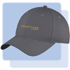 Courtyard brushed cotton twill cap GRAY #1223805