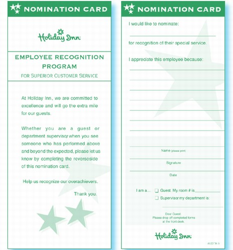 how to work with guest comment card for restaurant