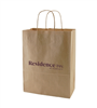 Residence INN BY MARRIOTT large Kraft Brown Shopping Bag, #12291013-19KFT