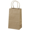 Plain Brown Kraft small gift bag,  # 122920KFT