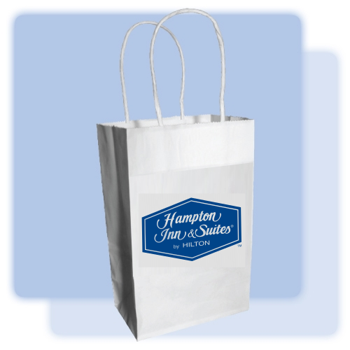 Hampton By Hilton Kraft Paper Gift Bag Hampton Inn Gift
