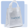 Fairfield by Marriott frosted medium shopping bag