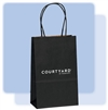 Courtyard by MARRIOTT BLACK small gift bag, #1229505