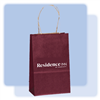 Burgundy small gift bag, #1229519Burgundy