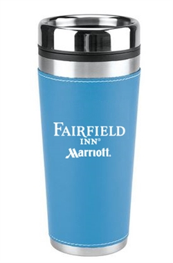16 oz Leatherette Tumbler for Fairfield Inn