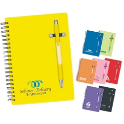 Pen-Buddy notebook.