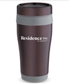 16 oz No-Slip-Grip stainless tumbler with Residence Inn.