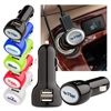 Shiny ABS oval shaped car phone charger
