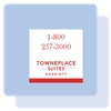 TownePlace Suites 1-800 magnet, #169-1224425