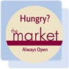Residence Inn oval magnet for the Market 24-hour snack shop.