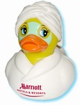 The Spa Duck with mud facial mask, #661-AD0011A