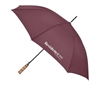 Residence Inn guest umbrella with natural wood golf handle, No. 662-A501C/19BUR