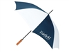 Fairfield by MARRIOTT guest umbrella with natural wood golf handle, #662-A501C/20C