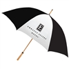 Embassy Suites guest umbrella with natural wood golf handle, #662-A501C/33