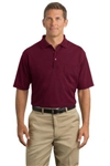 Custom embroidered CornerStone™ industrial pique polos, No. 751-CS402P