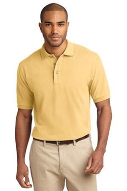 Custom 7-ounce, heavier pique polo shirt, No. 751-K420