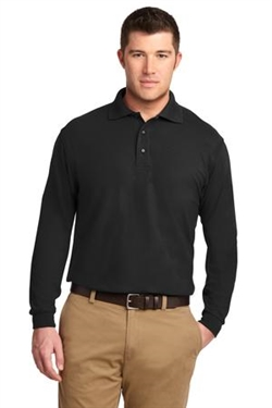 Port Authority™ Silk Touch™ LONG SLEEVE polo shirt, No. 751-K500LS