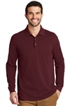 Port Authority® EZCotton™ Long Sleeve Polo No. 751-K8000LS