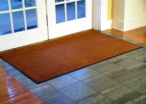Solid Color 100 Nylon Entrance Floor Mat
