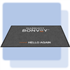 Marriott Bonvoy welcome mat, 3 ft. x 5' ft., LANDSCAPE ORIENTATION, No. 778-01/35L/Bonvoy