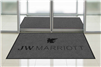 JW Marriott double door entry floor mat 4' x 6', No. 778-01/46/02