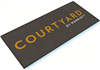 Courtyard double door entry floor mat 4' x 6', nylon, No. 778-01/46/05