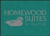 Homewood Suites double door entry floor mat 4' x 6', No. 778-01/46/27