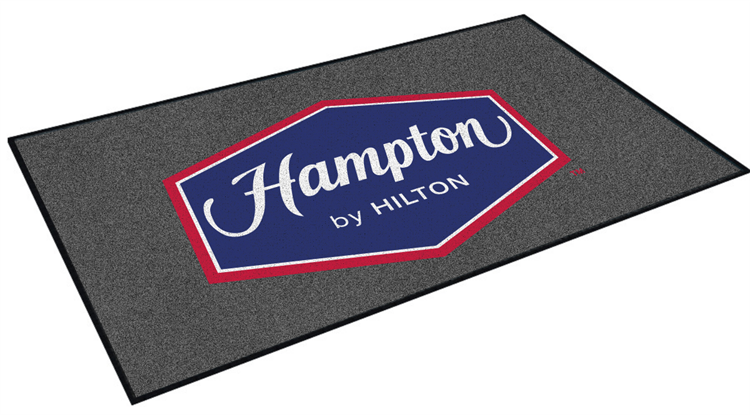 Hampton Inn Or Hampton Inn U0026 Suites Double Door Entry Floor Mat 4u0027 X 6