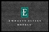 Embassy Suites Hotel double door entry floor mat 4' x 6', No. 778-01/46/33