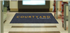 Courtyard front desk floor mat 4' x 8', No. 778-01/48/05