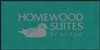 Homewood Suites front desk floor mat 4' x 8', No. 778-01/48/27