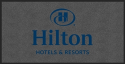 Hilton front desk floor mat 4' x 8', No. 778-01/48/30